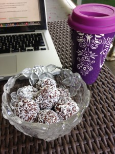 Chocolate Coconut Power Balls